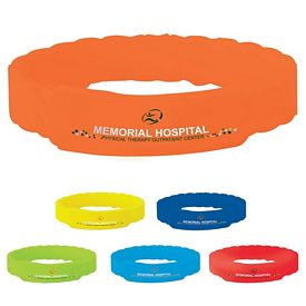 Promotional Twisted Silicone Awareness Bracelet