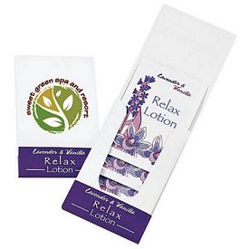 Promotional Relax Lotion Pocket Pack