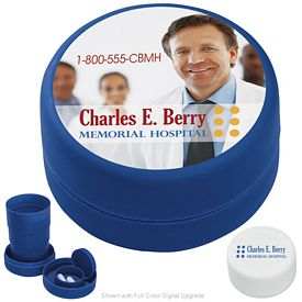 Promotional Travel Cup with Pill Compartment