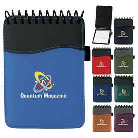 Promotional Spiral SIgN wave Jotter Pad