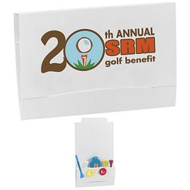 Promotional 4-2-1 Golf Tee Packet 2-3/4 Tee