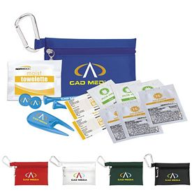 Promotional Golfers Sun Protection Kit 2-3/4 Tee