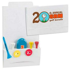 Promotional 4-2-1 Golf Tee Packet 3-1/4 Tee