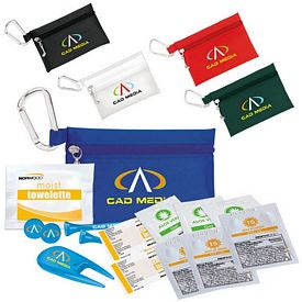 Promotional Golfers Sun Protection Kit 3-1/4 Tee