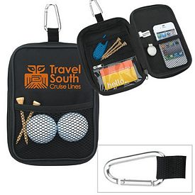 Promotional Valuables Zippered Pouch