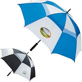 Promotional Ventilated Large 62 Golf Umbrella