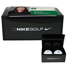 Promotional Nike 2-Ball Business Card Box