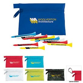 Promotional Golf Tees Links Pouch