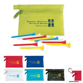 Promotional Golf Tees Value Pak Links Pouch
