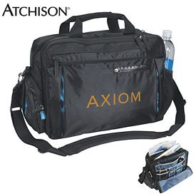 Promotional Atchison Odysseus Business Computer Brief Bag - CLOSEOUT ITEM