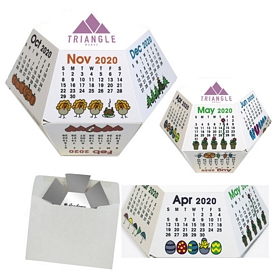 Custom Seasons Advertising Annual Pop-Up Calendar
