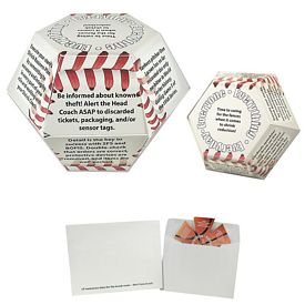 Promotional Baseball Annual Pop-Up Calendar