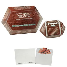 Promotional Football Annual Pop-Up Calendar