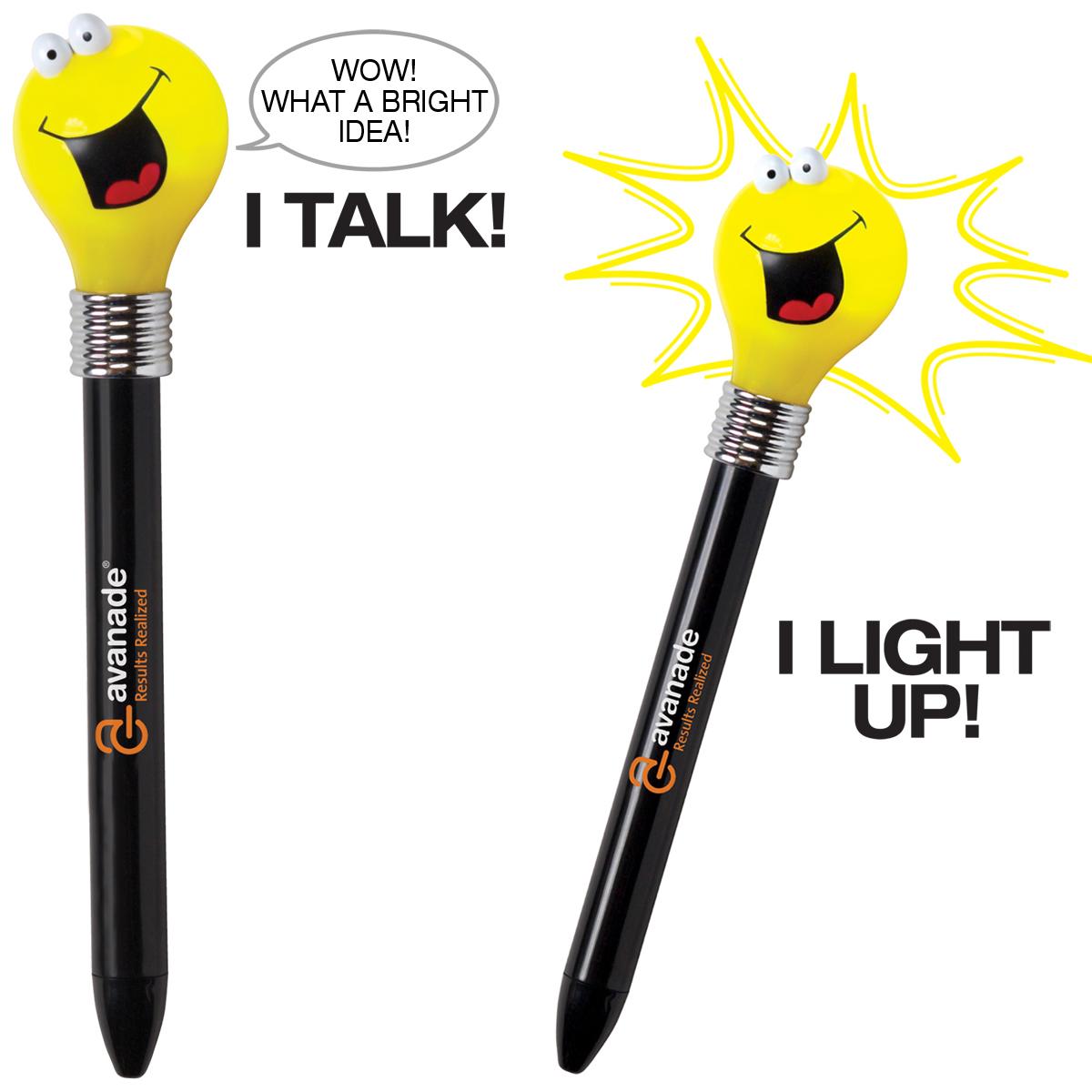 Novelty Lights Promotional Codes : Promotional Goofy Light Bulb Pen Customized Goofy Light Bulb Pen Promotional Novelty Pens