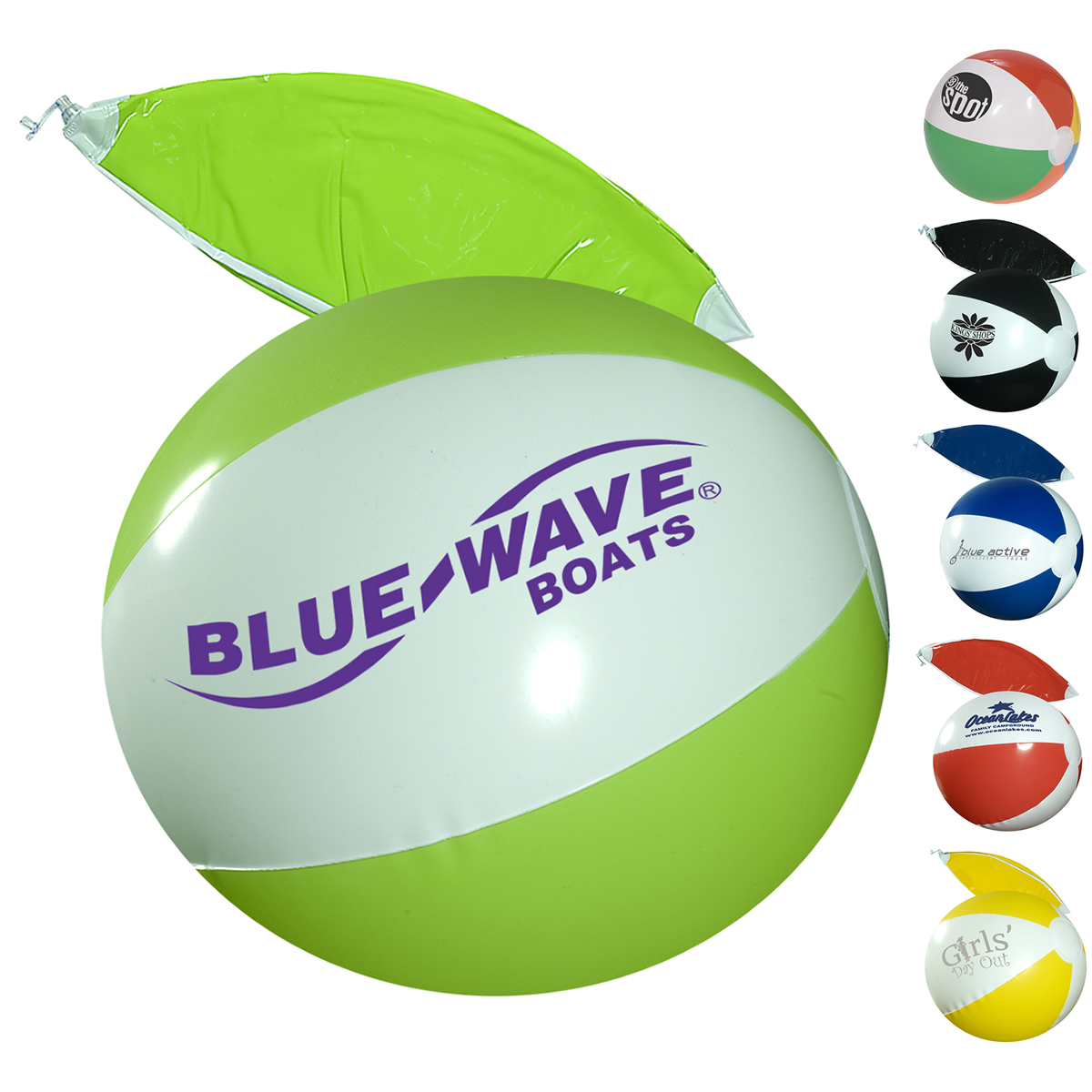 "Customized Classic 10"" Beach Ball 