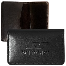 Promotional Leeman Alpine Cowhide Card Case