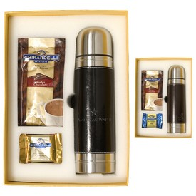 Promotional Empire Thermal Bottle Ghirardelli Deluxe Gift Set