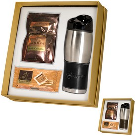 Promotional Empire Tumbler Godiva Deluxe Gift Set
