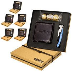Promotional Ferrero Rocher Chocolates Coasters Corkscrew Gift Set