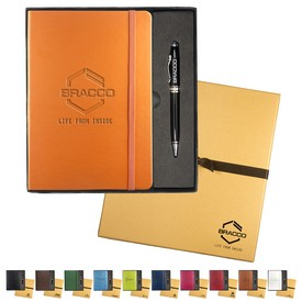 Promotional Leeman Tuscany Journal Executive Stylus Pen Set
