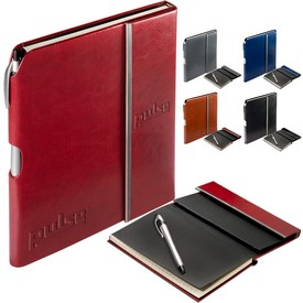 Customized Leeman Vienna Journal Stream Stylus Pen Set