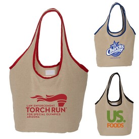 Customized Soft Touch Juco Shopper