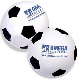 Promotional Soccer Ball Shaped Stress Reliever