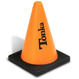 Custom Construction Cone Shaped Stress Reliever