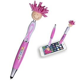 Customized Awareness Moptopper Screen Cleaner With Stylus Pen