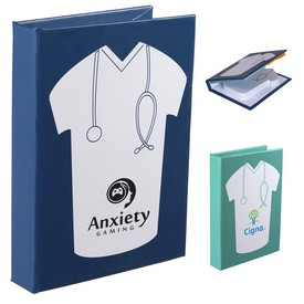 Promotional Medical Scrub Sticky Book