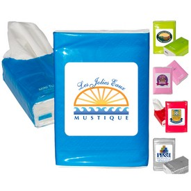 Customized Mini Resealable Tissue Packet