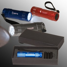 Customized Pocket 9 Led Torch