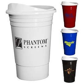 Promotional Econo Everlasting 16 Oz Party Cup With Lid