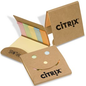 Promotional Smiley Sticky Note Pack