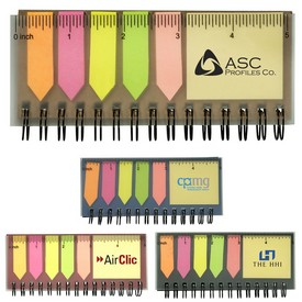 Custom Pocket Jotter With Stickies