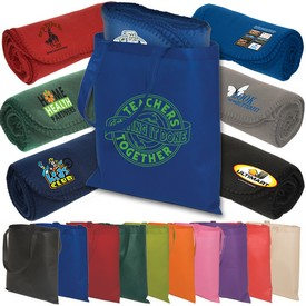 Customized Econo Tote-A-Blanket Combo Kit