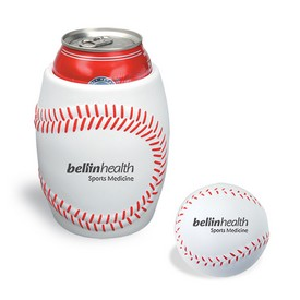 Promotional Baseball Can Holder Stress Reliever Kit
