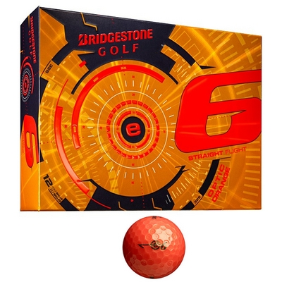 Promotional Bridgestone E6 Orange Golf Balls 12-Pack