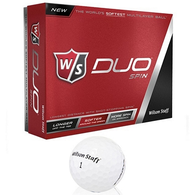Promotional Wilson Duo Spin Golf Balls 12-Pack