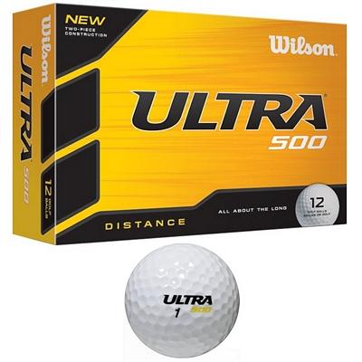 Promotional Wilson Ultra 500 Golf Balls 12-Pack