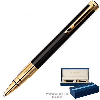 Promotional Waterman Perspective Black GT Ballpoint Pen