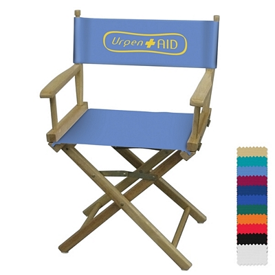 Customized Director Chair Table Height   1 Color Print