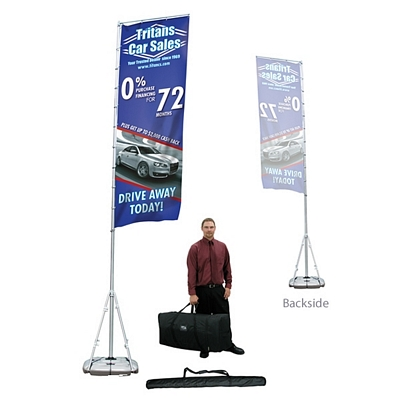 Promotional Giant Outdoor Banner Display Kit (Single-Sided)