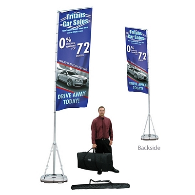 Customized Giant Outdoor Banner Display Kit (Double-Sided)