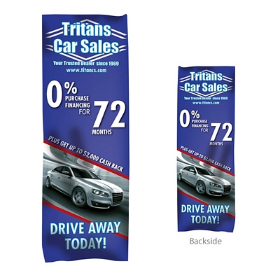 Promotional Giant Outdoor Banner Display (Double-Sided Replacement Graphic)