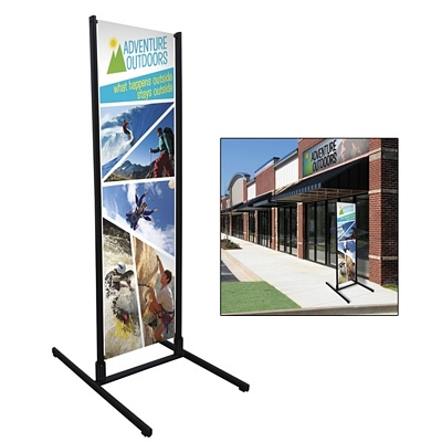 Promotional Four Season Dual Track Banner Display Kit