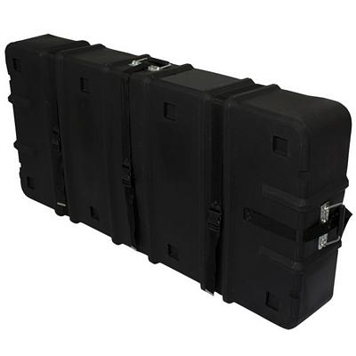 Customized Floor Display Hard Case with Wheels 57x26
