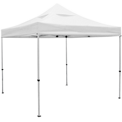 Promotional Deluxe 10 Ft Square Vented Canopy Tent (Non-Printed)