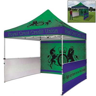 Promotional Standard 10 Ft Square Showstopper Tent Package (Full Color Sublimation)