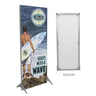 Promotional 32-inch Impress Fabric Display Kit Single-Sided